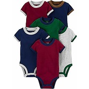 Simple joys by carter's 6-pack short-sleeve...