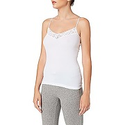 Hanro - 1485 - caraco - femme - blanc - taille xs