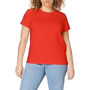Levi's perfect tee t-shirt, red (poppy red), s...