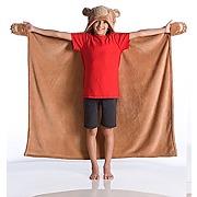 Kanguru couverture ours en polaire pour enfants...