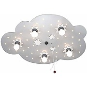Eec a+, elobra plafonnier nuage d'étoiles 5/40...