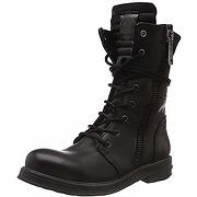 Replay evy, bottes motardes, noir (black), 35 eu