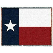 Private label texas state flag woven jacquard...