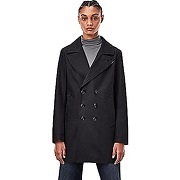 G-star raw lined denim peacoat caban, pitch...