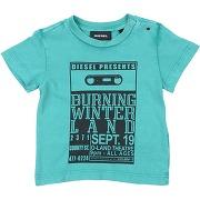 T-shirt diesel garçon. vert. 12 livraison...