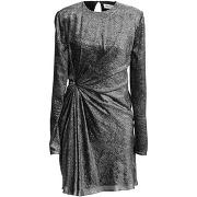 Robe courte saint laurent femme. argent. 40...