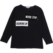 T-shirt silvian heach fille. noir. 10 livraison...