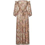 Robe longue anjuna femme. rose. xs livraison...