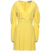 Robe courte msgm femme. jaune. 34 livraison...