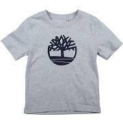 T-shirt timberland garçon. gris clair. 4...
