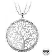 Collier et pendentif so charm b1467-argent femme