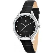Montre femme mf447-nfn bracelet cuir noir - so...