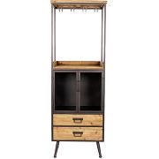 Damian - armoire bar à vin vintage high