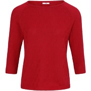 Le pull 100% coton supima® peter hahn rouge...