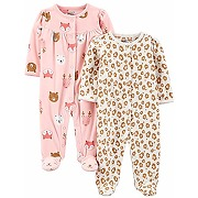 Simple joys by carter's 2-pack fleece footed...