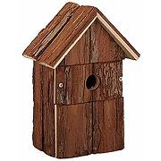 Relaxdays nichoir pour oiseaux, bois, volière à...