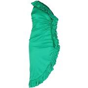 Robe courte the attico femme. vert. 32...