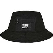 Urban classics canvas logo bucket chapeau,...