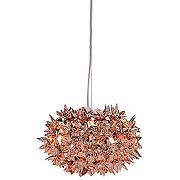 Kartell bloom, lampe à suspension, petit, cuivre