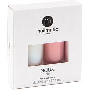 Nailmatic aqua nail base&top 2-en-1 + beige rosé
