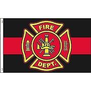 Az flag drapeau pompiers américains 150x90cm -...