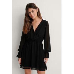 Na-kd robe mini - black