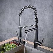 Beelee robinet de cuisine avec 360°rabattable...