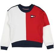 Sweat-shirt tommy hilfiger fille. rouge. 10...