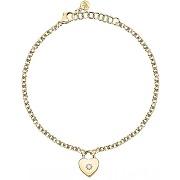 Bracelet femme morellato bijoux acier doré saub18