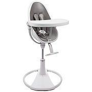 Chaise haute fresco chrome white/skin grey bloom