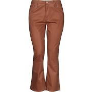 Pantalon en jean frame femme. marron. 24...