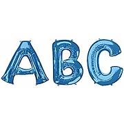 Anagram ballon gonflable bleu 86,4 cm