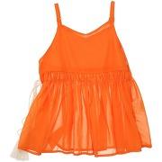 Blouse custo barcelona fille. orange. 8...