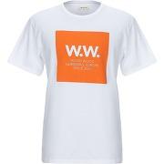 T-shirt wood wood homme. orange. s livraison...