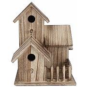 Maison à oiseaux petit nichoir en bois jardin...