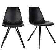 Franky - 2 chaises vintage