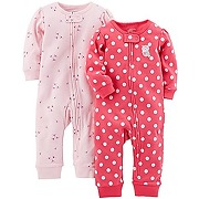 Simple joys by carter's 2-pack cotton footless...