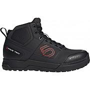 Chaussures five ten impact pro mid noir rouge 44