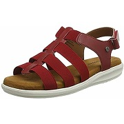 Hush puppies hailey, spartiates femme, rouge...