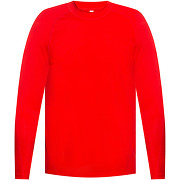 Y-3, training top with long sleeves rouge,...