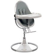 Chaise haute fresco chrome white/lunar silver...