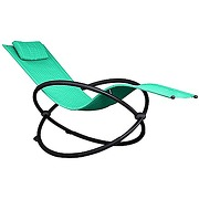 Vivere orbl1-tt orbital chaise longue aluminium...
