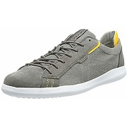 Geox u newall a, basket homme, gris anthracite,...