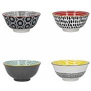 Kitchencraft - bols en céramique à motifs...