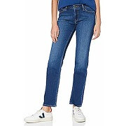 Lee marion straight jeans, mid worn in ray, 26w...