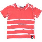 T-shirt daniele alessandrini garçon. rouge. 6...