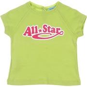 T-shirt converse all star fille. vert clair. 6...