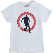 T-shirt bikkembergs garçon. blanc. 12 - 24 - 6...