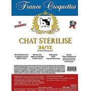 France croquettes chat stérilisé 36/12