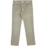 Pantalon en jean twinset fille. vert militaire....